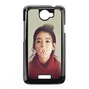 HTC One X Cell Phone Case Black he82 kpop iu singer music cute girl sexy SLI_524432