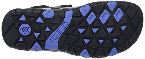 Mujer Sandspur Sandals periwinkle Black Merrell x8zfqgYUn