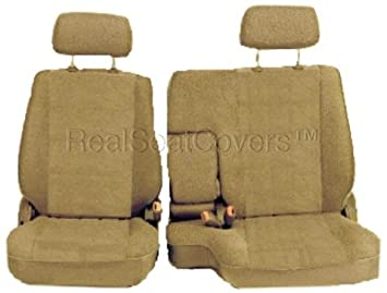 Stupendous Amazon Com Realseatcovers For A57 Toyota Pickup Front 60 40 Machost Co Dining Chair Design Ideas Machostcouk