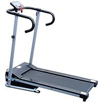 Elektrisches Laufband Fitnessgerät Klappbarer Heimtrainer mit LCD-Display 150...