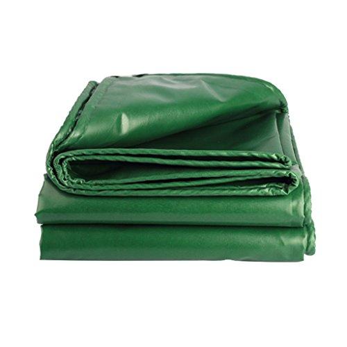 FurnitureShop US Waterproof Plastic Cloth- Outdoor Tarpaulin Thickening Rain Rain Cloth Waterproof Sunscreen Tarpaulin Truck Rain Awning Shade Oxford Oil Sailcloth (Size : 5m7m)