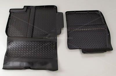 Husky Liner 61361 Custom FloorLiner BLACK 99-07 Silverado Sierra Ext Cab 2nd Row