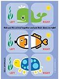 Shoezooz • Educational Shoe Stickers for Kids (Sea)