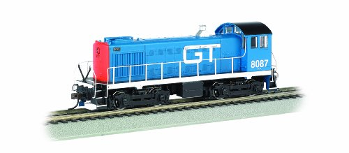 Ho Scale Grand Trunk - Bachmann Industries Alco S4 Grand Trunk #8087 - DCC Ready Diesel Locomotive - HO Scale