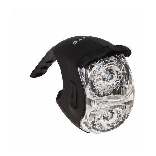 Q-LITE QL-281F 2 White LEDs Charging by USB Front Light BIKE MTB ROAD