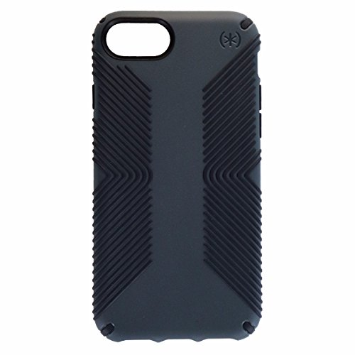 Speck Products Presidio Grip Case for iPhone 8 7 - Graphite Gray/Charcoal Gray (Best Iphone Case Manufacturers)