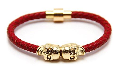 Censtusllery Double Magnet Bracelet Leather