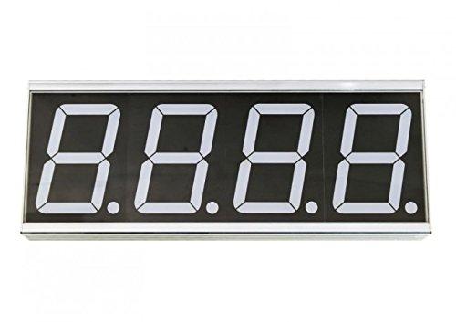 ALLNET All-PoE-CNT-1 Digital Wall Clock Rectángulo Gris - Reloj de Pared (Gris, 370 mm, 43 mm, 141 mm, 2,18 kg): Amazon.es: Hogar