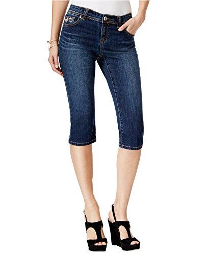 INC International Concepts Women's Regular-Fit Cropped-Leg Jeans (8, Beautiful Wash)
