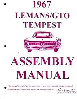 1970 pontiac gto, lemans, tempest wiring diagram manual reprint