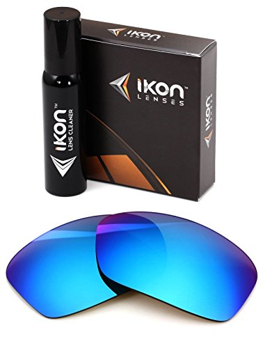 (Polarized Ikon Iridium Replacement Lenses for Dragon Vantage Sunglasses - Ice Mirror)