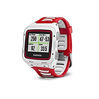 Garmin Forerunner 920XT White/Red GPS Sports Watch (Certified Refurbished)