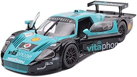 YN モデルカー ブルーモデルカーマセラティMC12スポーツカーモデル1:24合金カーモデル玩具コレクション装飾品ギフト装飾 ミニカー