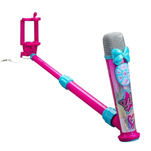 eKids JoJo Siwa Selfie Star Studio - App Enhanced Selfie Stick - Video Recording Microphone by eKids (Image #1)