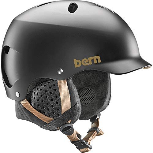 BERN Helmets Lenox EPS Satin Black w/Black Liner - Medium