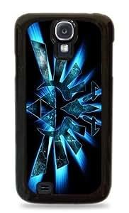 Zelda Glowing Blue Triforce - Black Hardshell Case for Samsung Galaxy S3 - 438
