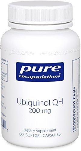Pure Encapsulations Ubiquinol QH Hypoallergenic Antioxidant