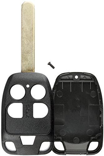 - KeylessOption Keyless Entry Remote Uncut Blank Key Blade Fob Case Shell Cover Buttons For Odyssey N5F-A04TAA