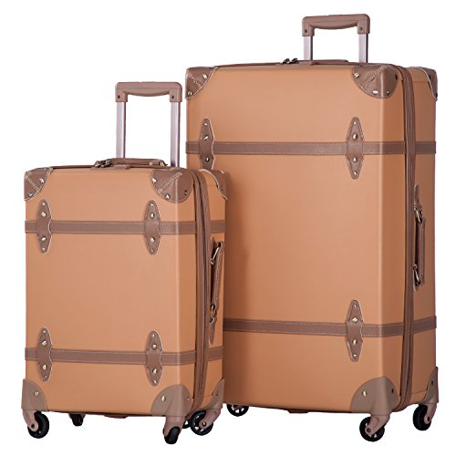 Merax Luggage Vintage Suitcase 20inch product image