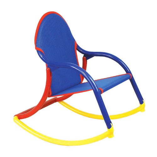 Hoohobbers Rocking Chair, Blue Mesh