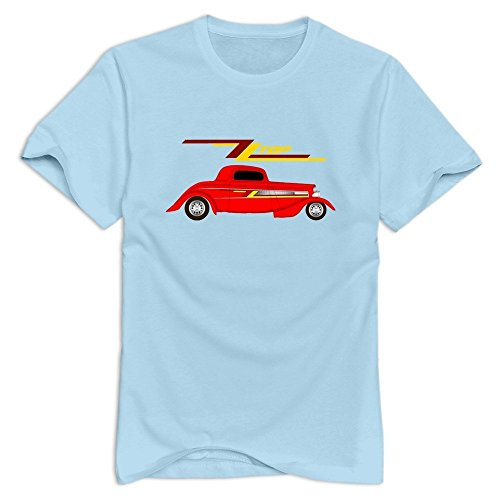 SkyBlue VAVD Male's ZZ Top Casual T-Shirt Size
