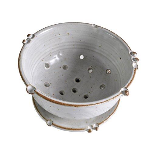 Want Anthony Stoneware 2-piece Berry Bowl Set, White lowestprice