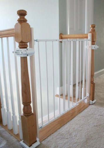 Amazon.com : No Hole Stairway Baby Gate Mounting Kit By Safety Innovations  : Indoor Safety Gates : Baby