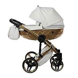Junama Diamond Mirror Satin 3-in-1 BBtwin Baby Pushchair