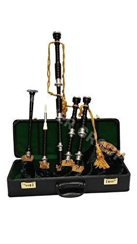 cdec3a8a99aa Tartan City New Scottish Bagpipe Rosewood Highlands Music Instrument With  Practic Chanter with Amazing Grace hard
