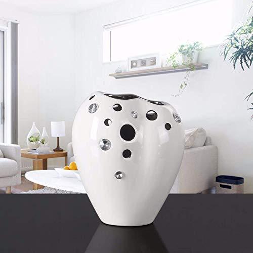 C BAIF Décorations Creative Cascade Pierre Vase Salon ArrangeHommest De Fleurs Céramique Moderne Décorations De Mode Simple, C