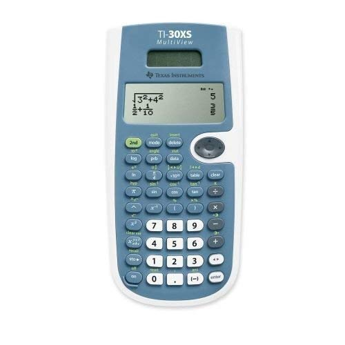 Texas Instruments TI-30XS Multiview Scientific Calculator (Renewed) by Texas Instruments