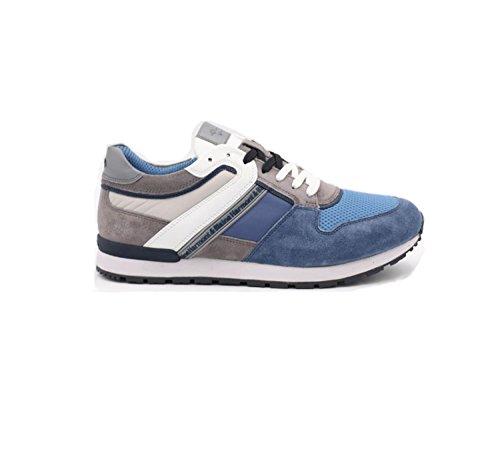 Harmont & Blaine Sneaker Uomo, Blu (Blue), 43.5 EU E1095657