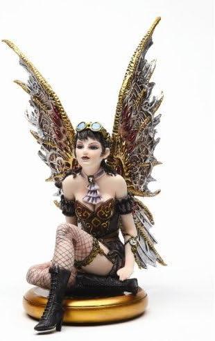 Steampunk Fairy Set of 4 Figurines Rebecca Jess Tabitha Naomi