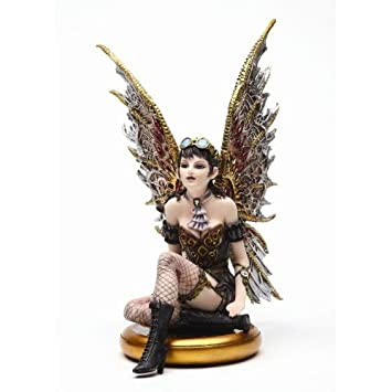 Steampunk Fairy Set of 4 Figurines Rebecca Jess Tabitha Naomi