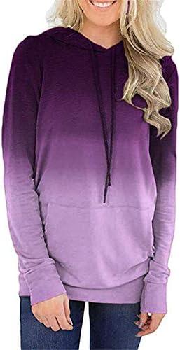 [해외]Thenxin Women`s Hoodies Long Sleeve Tie Dye Pullover Casual Loose SweatshirtPockets / Thenxin Women`s Hoodies Long Sleeve Tie Dye Pullover Casual Loose SweatshirtPockets(Purple,M)