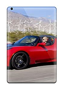 Best 5787659K69158337 Case Cover Protector Specially Made For Ipad Mini 3 Tesla Roadster 32