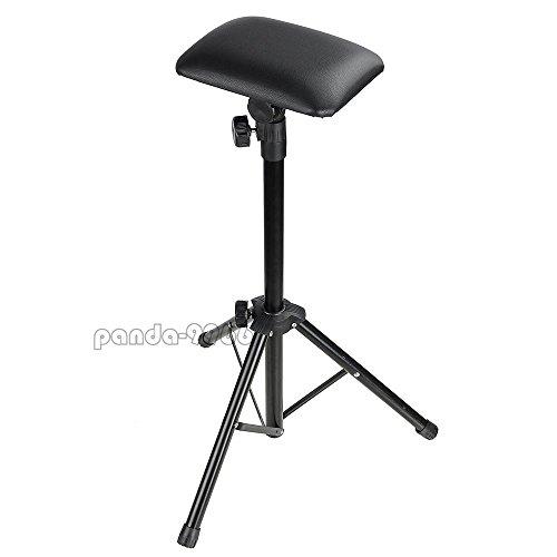 Adjustable Height Tattoo Tripod Stand Arm Bar Rest Studio Chair Leg Rest Sponge