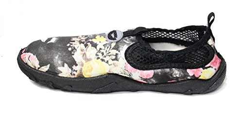 Easy Usa Womens Wave Water Shoes Rose Nere