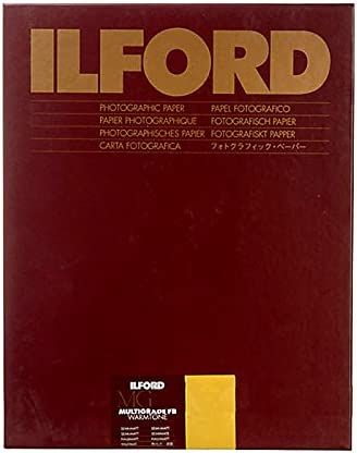 Ilford Multigrade RC Warmtone Resin Coated VC Variable Contrast Black /& White Enlarging Paper Glossy Surface 11x14-50 Sheets