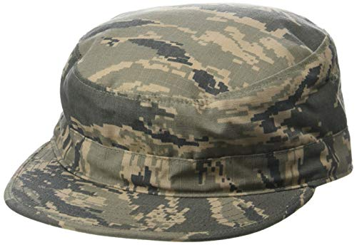 Propper Men's Abu Utility Cap, Air Force Digital Tiger Stripe, 7 1/4 Air Force Battle Uniform