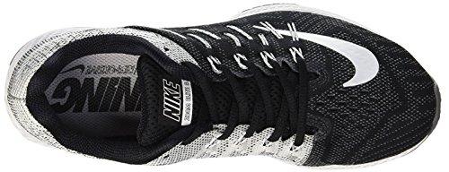 Black Grau wolf Nike Wmns 8 Weiß Damen Grau Laufschuhe Schwarz drk Elite Air Zoom fOB0Afqw