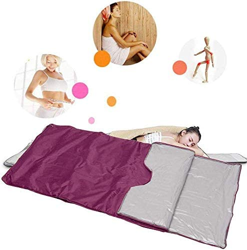 S SMAUTOP Infrared FIR Sauna Blanket Body Shaper Sauna Blanket Anti Ageing Beauty Machine Purple