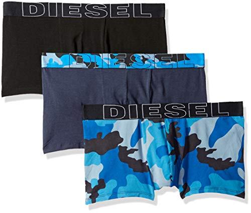Diesel Men's UMBX-DAMIENTHREEPACK Boxer 3pack, Blue, M