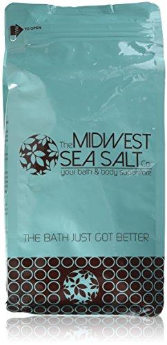 Eucalyptus & Spearmint Mediterranean Sea Bath Salt Soak - 5lb (Bulk) - Fine Grain