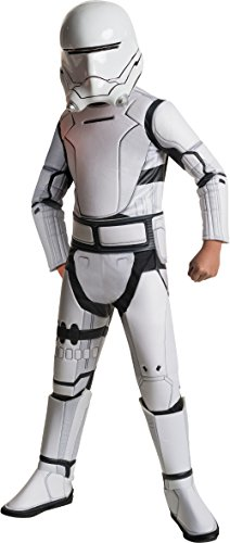Star Wars: The Force Awakens Child's Super Deluxe Flametrooper Costume, (Deluxe Stormtrooper Helmet)
