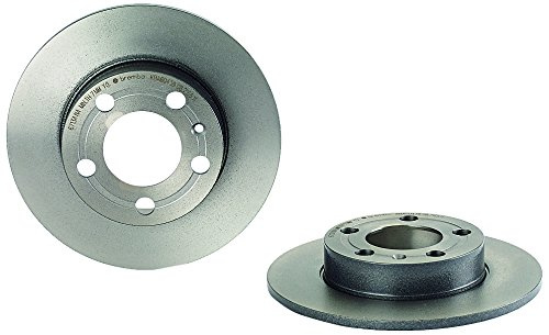 Brembo 08.7165.11 UV Coated Rear Disc Brake (Brembo Volkswagen Golf)
