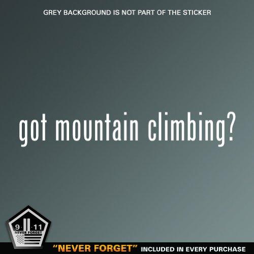 (2x) Got Mountain Climbing - Decal - Die Cut - Vinyl