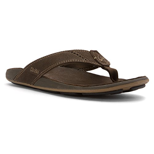 OluKai Womens Kulapa Kai Sandal Seal Brown