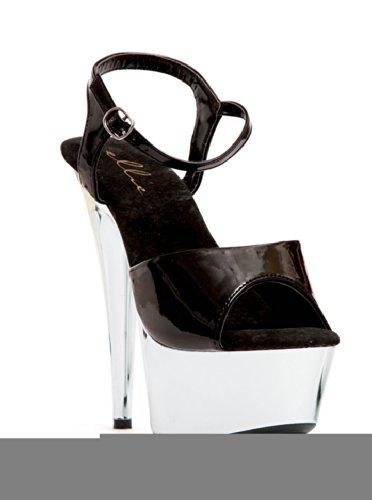 6 Pointed Chrome Stiletto Sandal. Kk9eaPo