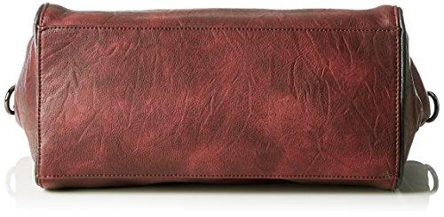 Rieker H1311, Bolsa de Asa Superior para Mujer, Rojo (Wine/35), 42x25x13 cm (B x H x T)
